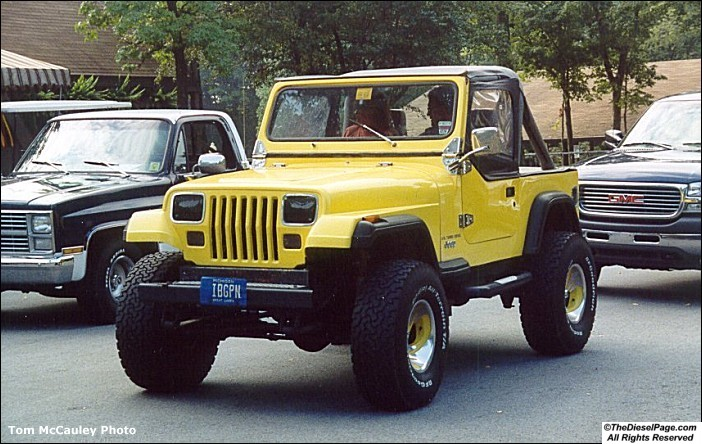 6 5L Turbo Diesel Jeep YJ - TheDieselPage com Forums