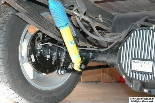 Six-lug rear disc brakes    - Page 2 - TheDieselPage com Forums